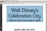 Disney's Celebration Down South American Way